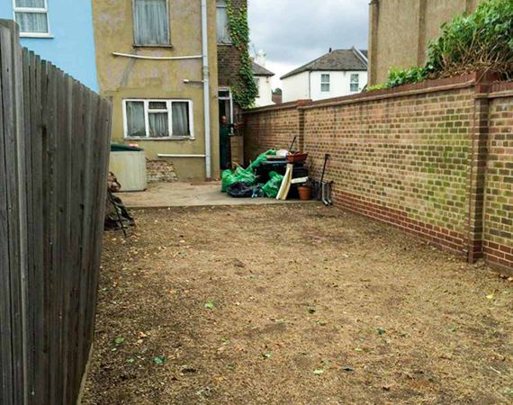 the result from garden clearance by Fantastic Gardeners