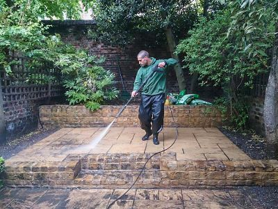 patio jet washing NW6