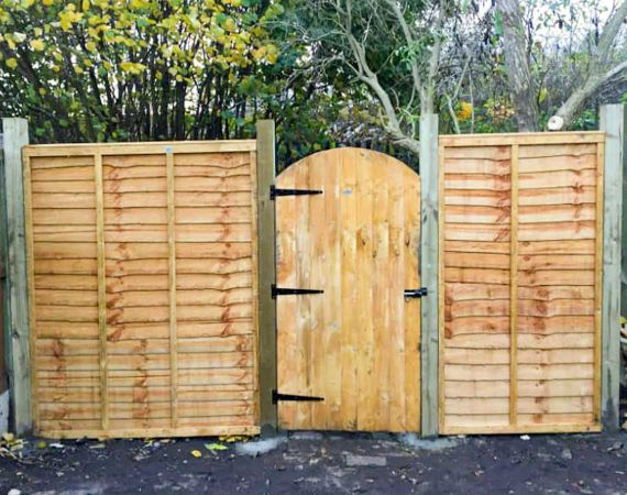 new gate and fence panels