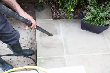 patio jet washing in Manchester
