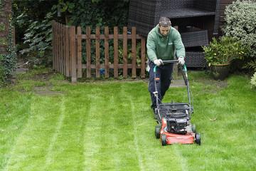 lawn mowing in Manchester