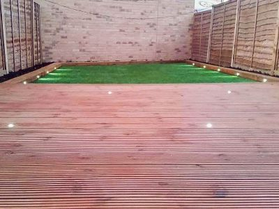 the decking in n1