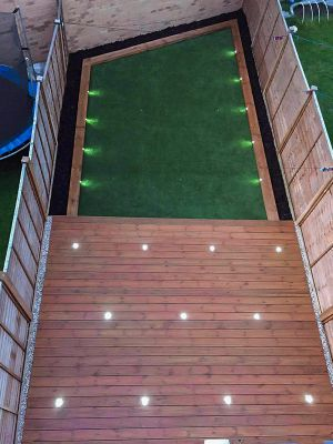 turfing and decking installation