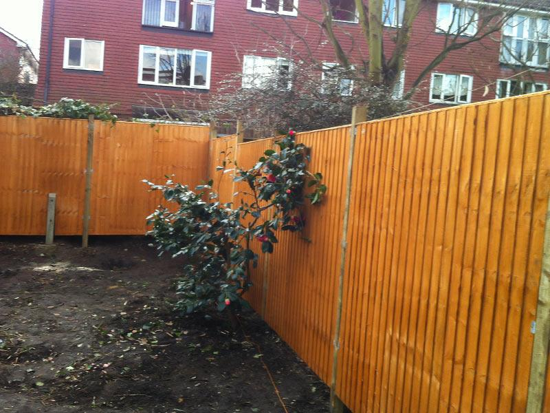 close-board fence panels